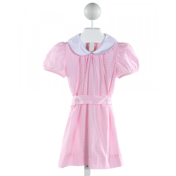 MARY & GRACE  PINK  GINGHAM  DRESS
