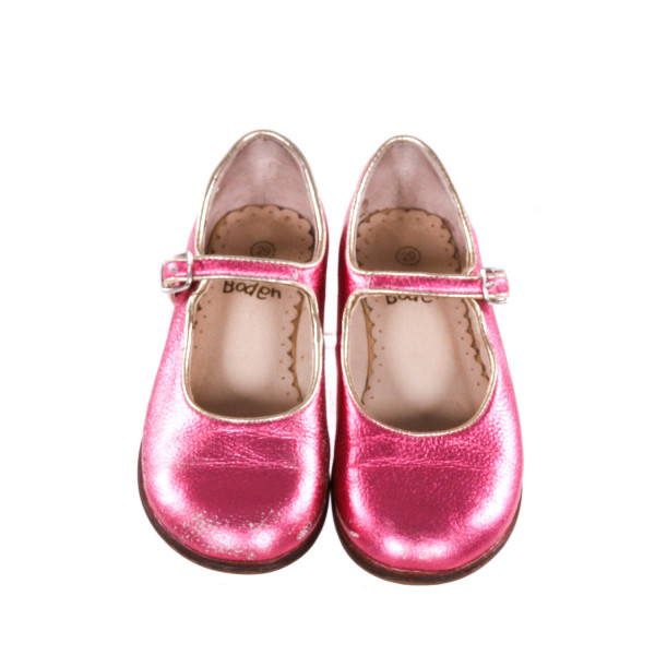 MINI BODEN PINK SHOES *SIZE 29 = SIZE 11.5, VGU - SCUFFING AND PAINT WEAR