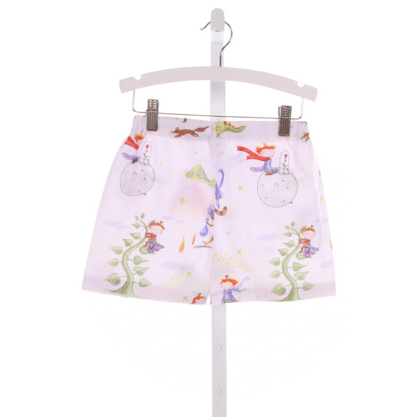 NO TAG  MULTI-COLOR   PRINTED DESIGN SHORTS