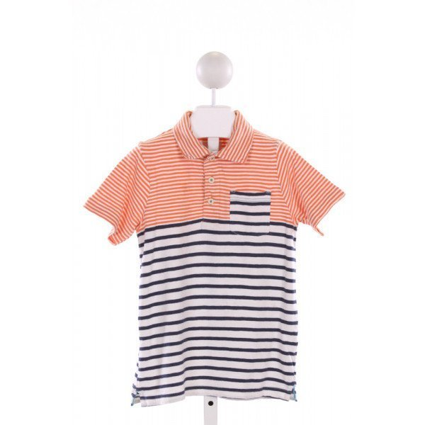 MINI BODEN  MULTI-COLOR  STRIPED  KNIT SS SHIRT