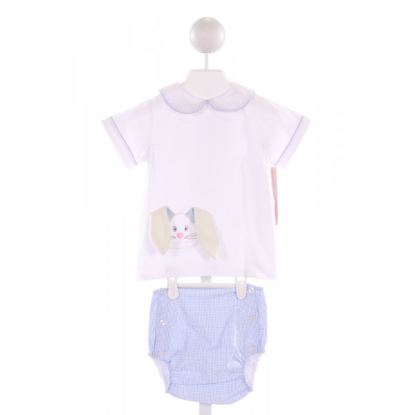 LULLABY SET  MULTI-COLOR   APPLIQUED 2-PIECE OUTFIT