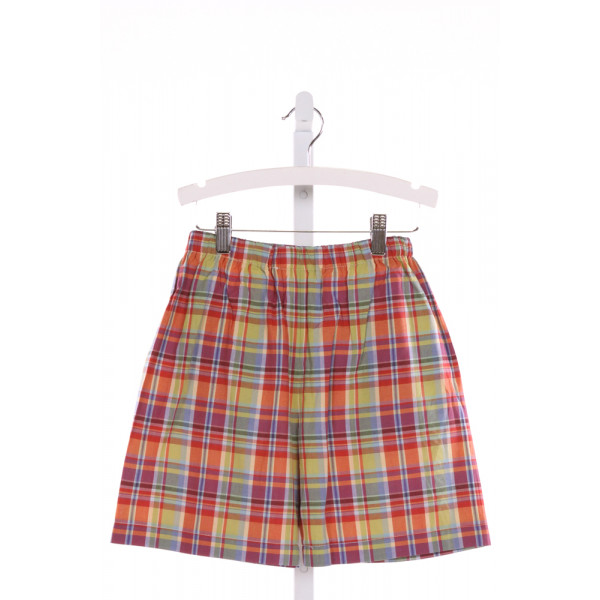 MARY & GRACE  MULTI-COLOR  PLAID  SHORTS