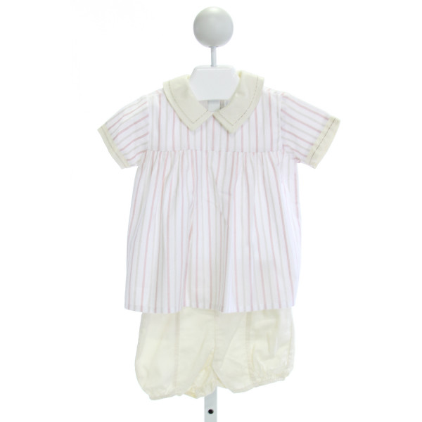 DONDOLO  PINK  STRIPED  2-PIECE OUTFIT