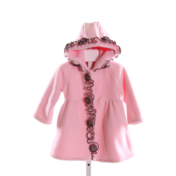 WIDGEON  LT PINK    DRESSY OUTERWEAR WITH RUFFLE