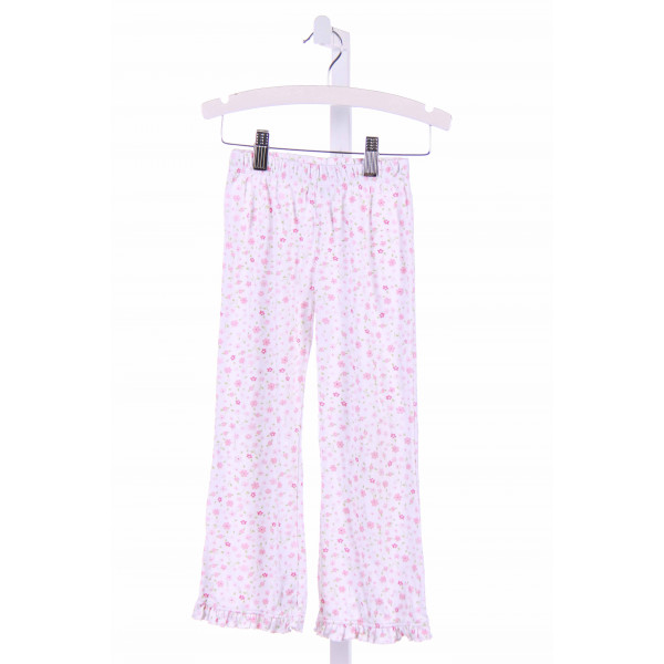 STITCHY FISH  PINK  FLORAL PRINTED DESIGN PANTS