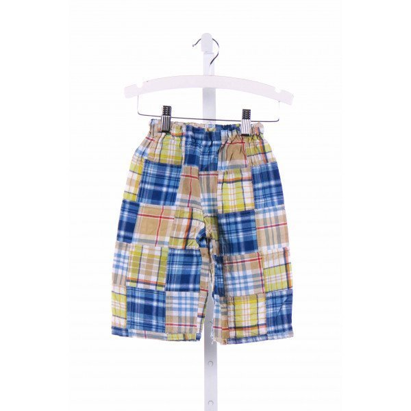 LOLLY WOLLY DOODLE  BLUE  PLAID  PANTS