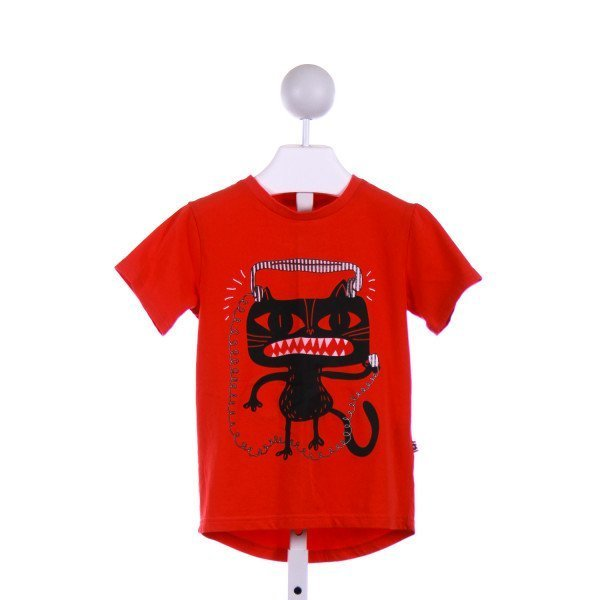 DEUX PAR DEUX  RED   PRINTED DESIGN TSHIRT