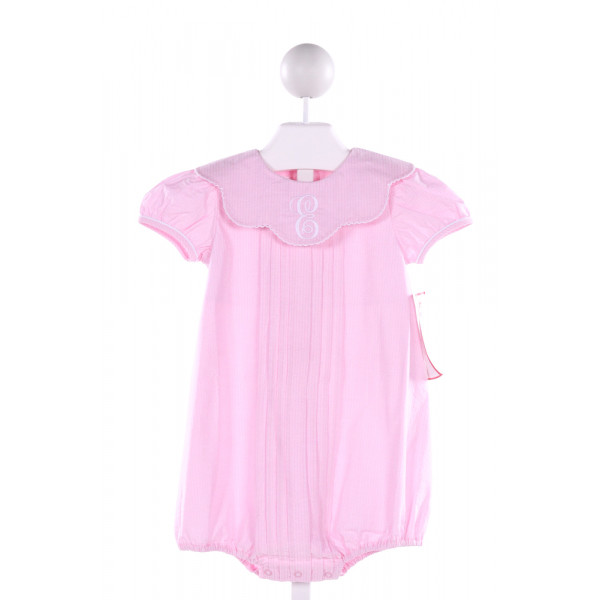 STELLYBELLY  PINK  STRIPED EMBROIDERED BUBBLE