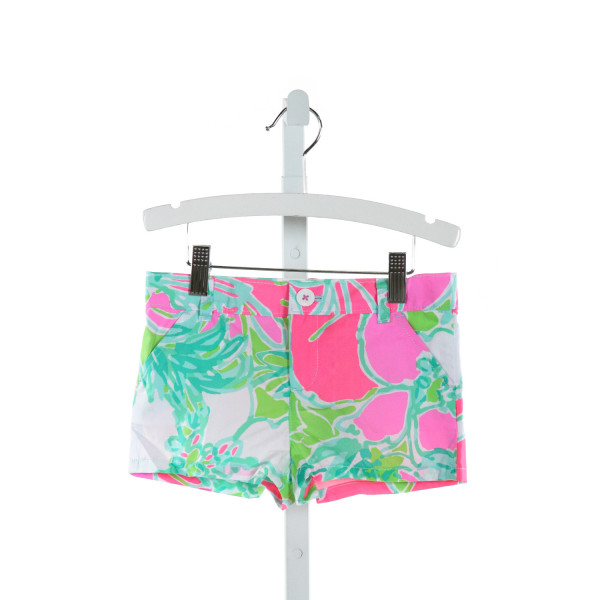 LILLY PULITZER  HOT PINK   PRINTED DESIGN SHORTS