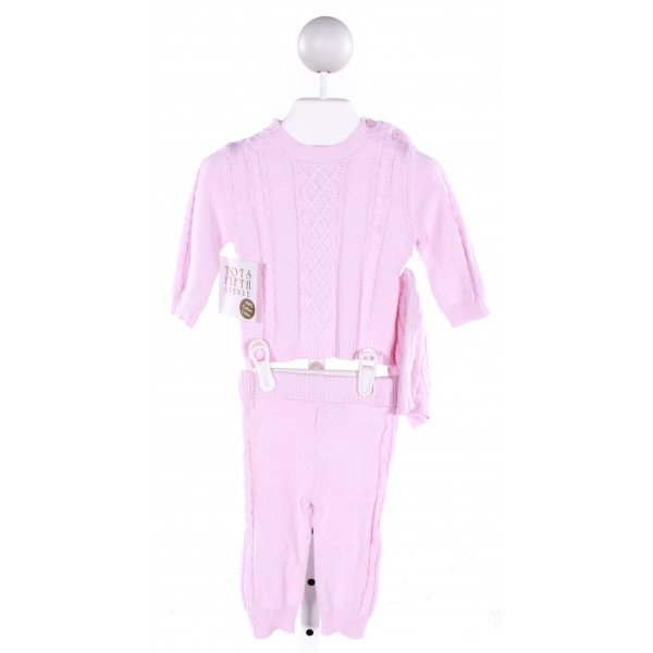 TOTS FIFTH AVENUE  PINK    2-PIECE OUTFIT