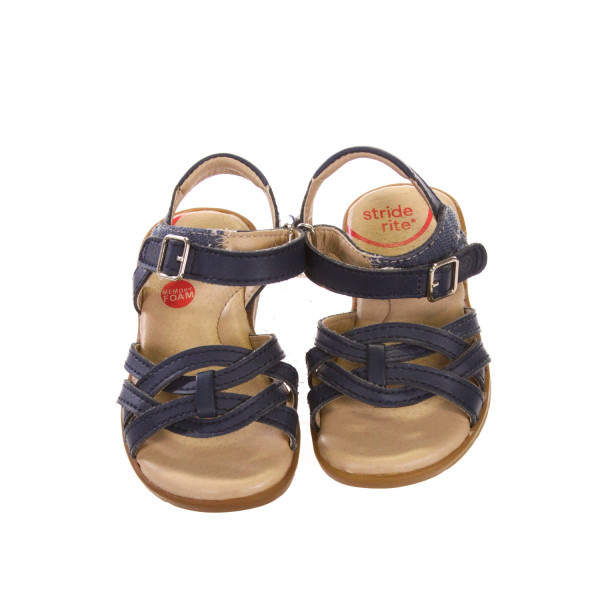 STRIDE RITE BLUE SANDALS *APPROX SIZE 7, EUC