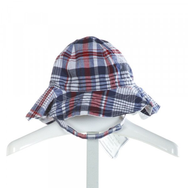 POTTERY BARN KIDS  MULTI-COLOR  PLAID  ACCESSORIES - HEADWEAR