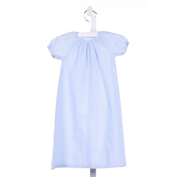 THREE SISTERS  BLUE  STRIPED  LAYETTE