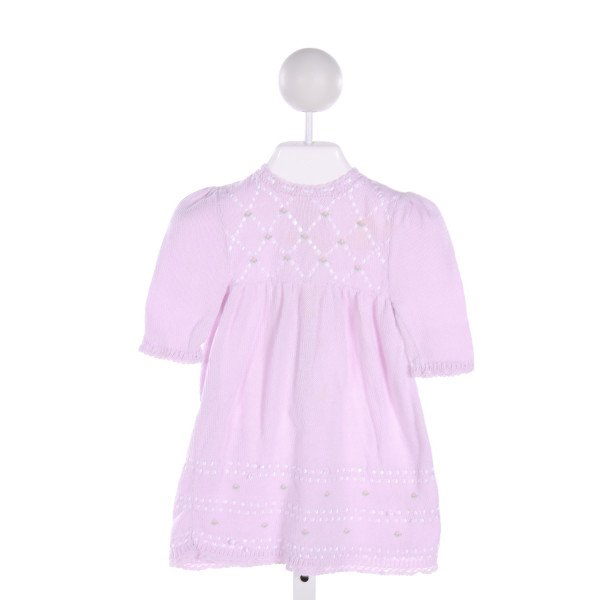 SOPHIE DESS  PURPLE           EMBROIDERED DRESS