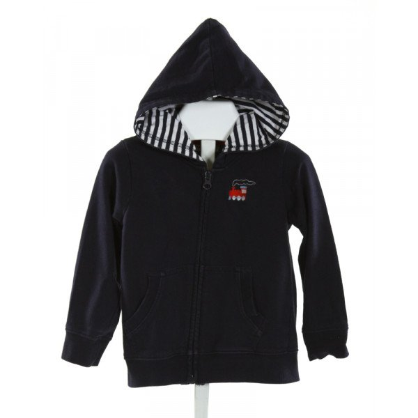 MINIBAMBA  NAVY   EMBROIDERED OUTERWEAR
