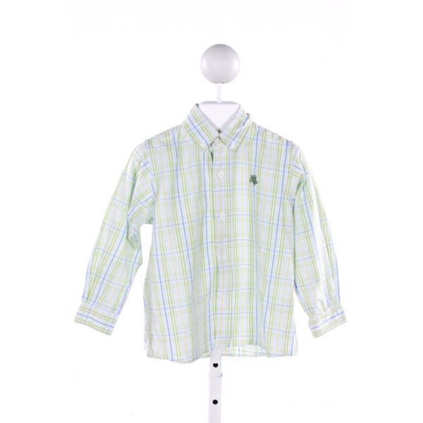 J. BAILEY  MULTI-COLOR  GINGHAM  CLOTH LS SHIRT