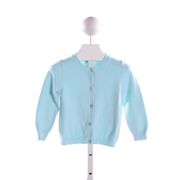 CREWCUTS  LT BLUE    CARDIGAN