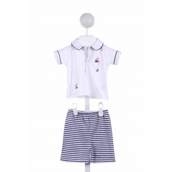 KISSY KISSY  MULTI-COLOR   EMBROIDERED 2-PIECE OUTFIT