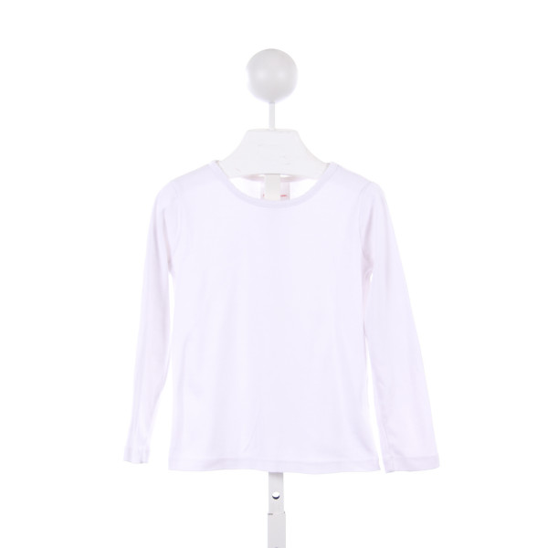 HANNA ANDERSSON WHITE KNIT LONG-SLEEVE TOP