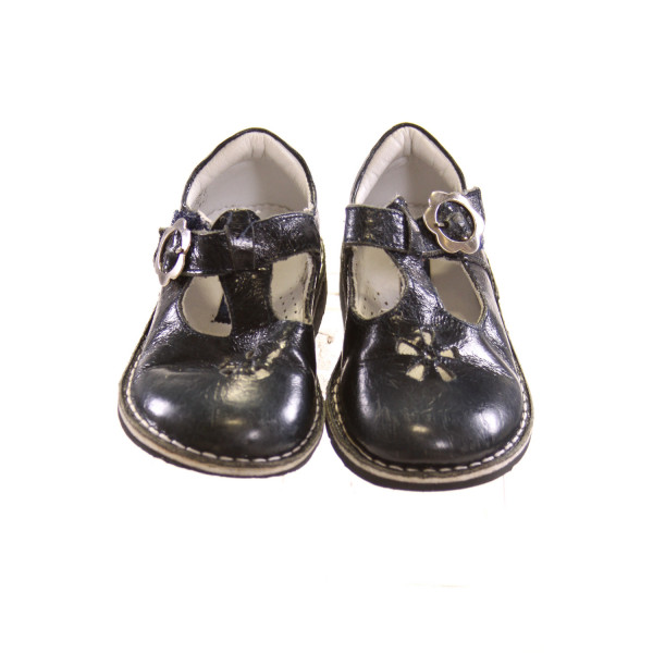 KID EXPRESS NAVY BLUE SHOES *SIZE 8-8.5, VGU - MINOR WEAR AND SCUFFING