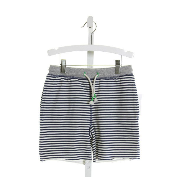 MINI BODEN  NAVY  STRIPED  SHORTS