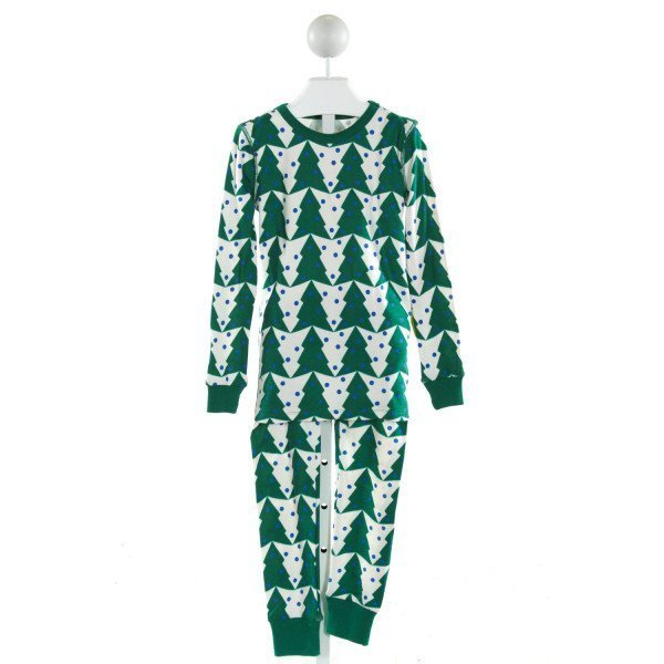 CREWCUTS  GREEN   PRINTED DESIGN LOUNGEWEAR