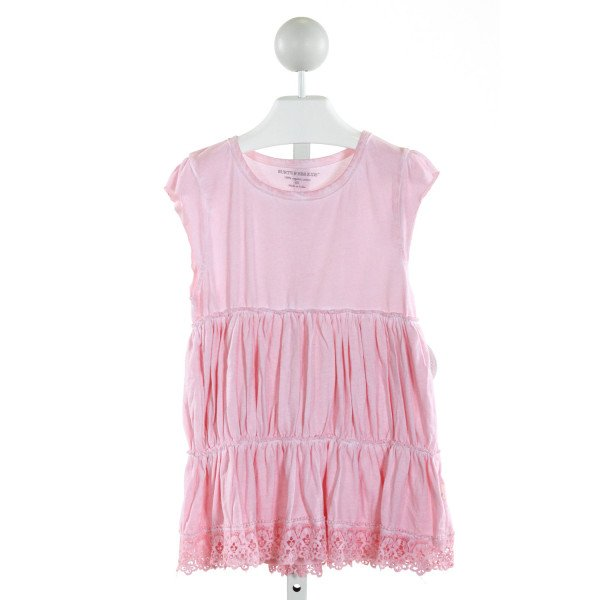 BURT'S BEES BABY  LT PINK    KNIT DRESS