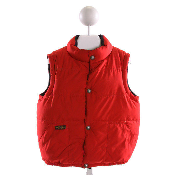 POLO BY RALPH LAUREN  RED    VEST