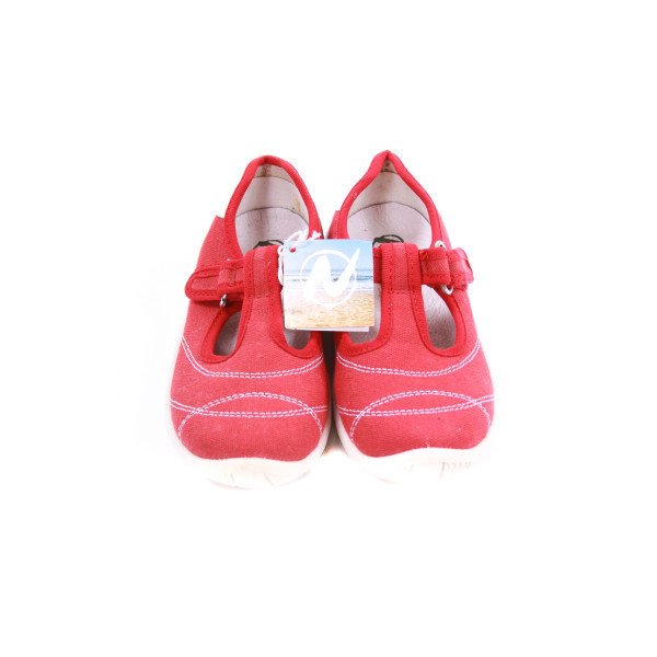NATURINO RED CANVAS SHOES *EU SIZE 27=10.5