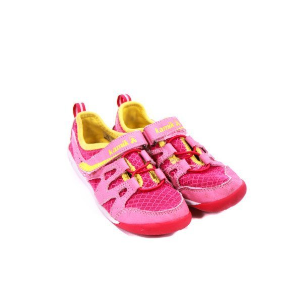KAMIK PINK AND YELLOW SHOES TODDLER SIZE 11 *VGUC (LIGHT WEAR)