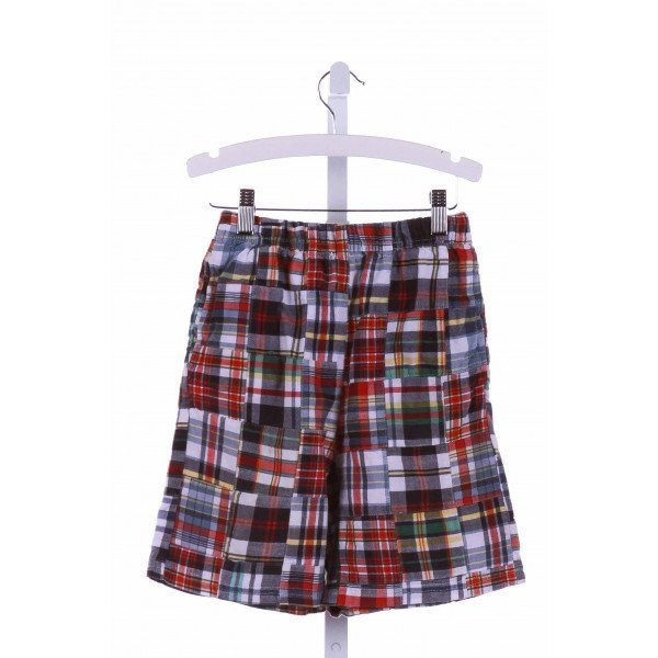 CWD KIDS  MULTI-COLOR  PLAID  SHORTS