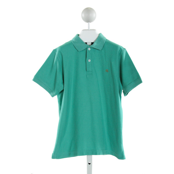 J. BAILEY  LT GREEN    CLOTH SS SHIRT