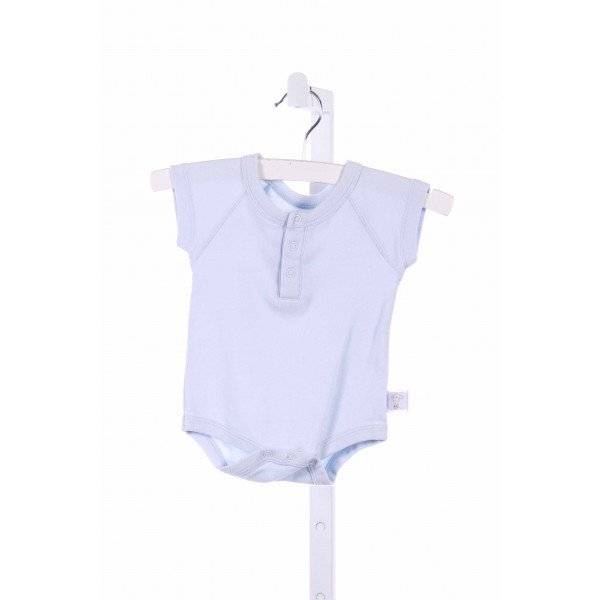 LITTLE GIRAFFE  LT BLUE KNIT   LAYETTE