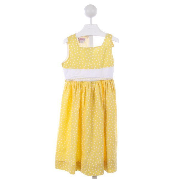 SIMI YELLOW POLKA-DOT DRESS