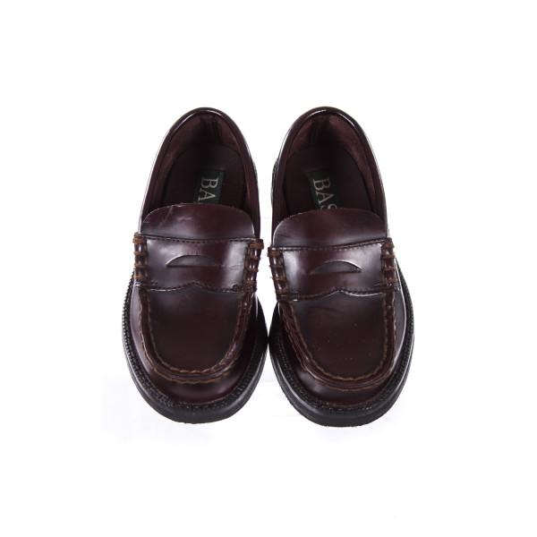 BASS BROWN LOAFERS TODDLER SIZE 9.5