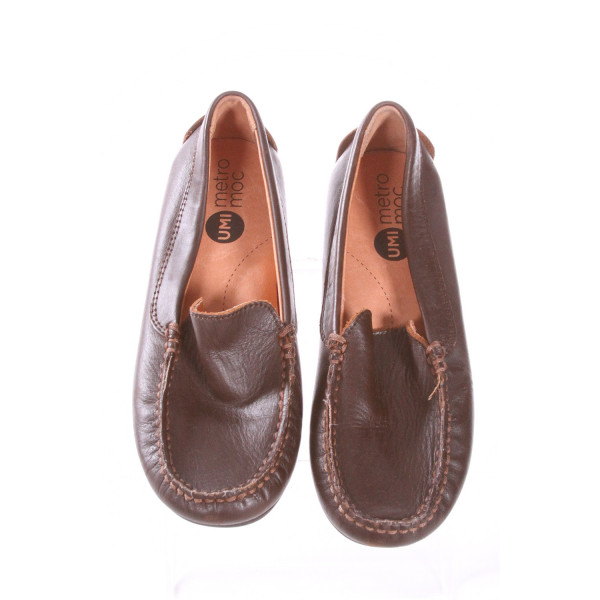 UMI BROWN SHOES *SIZE 12, VGU - CREASING