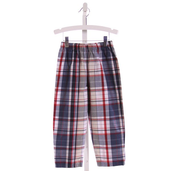 LUIGI  MULTI-COLOR  PLAID  PANTS