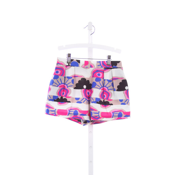 MILLY MINIS MULTI COLORED PLEATED SHORTS