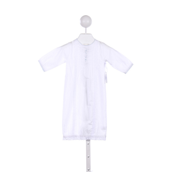 HELEN & HAROLD'S  WHITE   EMBROIDERED LAYETTE WITH LACE TRIM