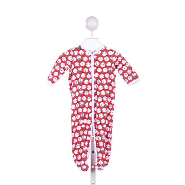 ROBERTA ROLLER RABBIT  RED   PRINTED DESIGN LOUNGEWEAR