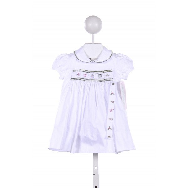 LULLABY SET  WHITE    CASUAL DRESS