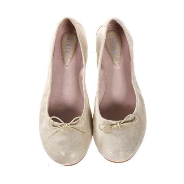 BLOCH GOLD SIRENETTA SHOES. *NWT
