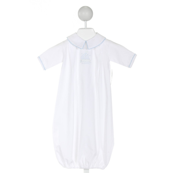 AURALUZ  WHITE   EMBROIDERED LAYETTE