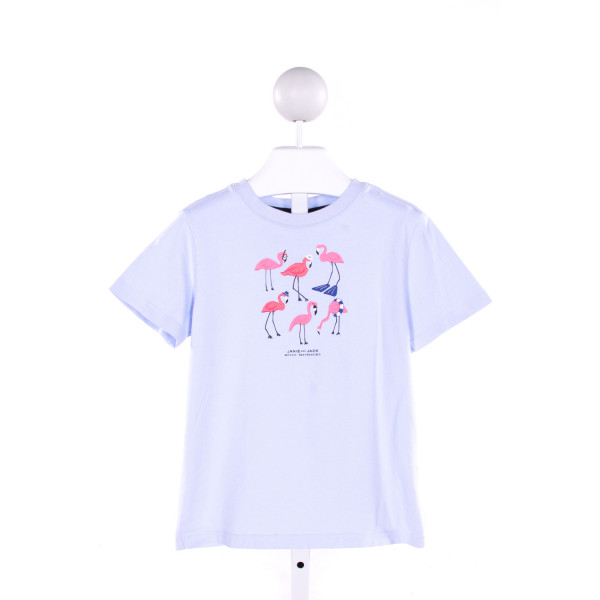 JANIE AND JACK  LT BLUE   PRINTED DESIGN T-SHIRT