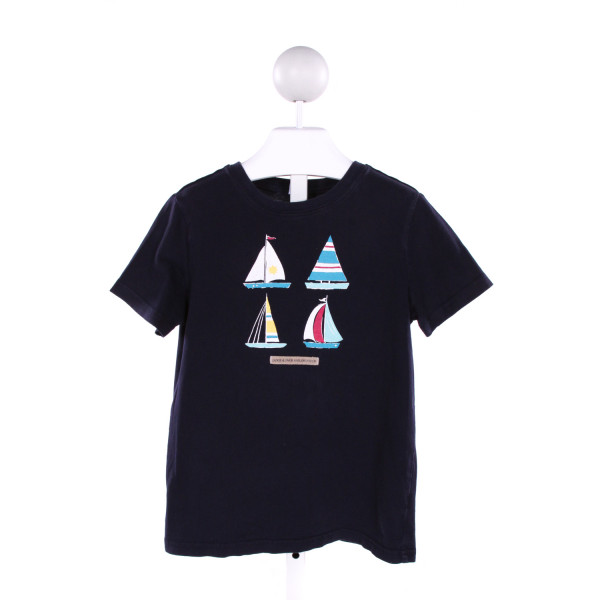 JANIE AND JACK  NAVY   PRINTED DESIGN T-SHIRT