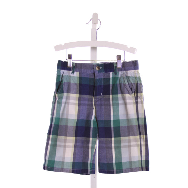 JANIE AND JACK  MULTI-COLOR  PLAID  SHORTS