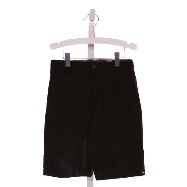 QUIKSILVER  BLACK    SHORTS
