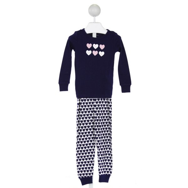 JANIE AND JACK  NAVY   PRINTED DESIGN 2-PIECE OUTFIT