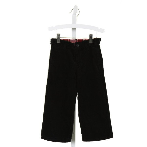 JANIE AND JACK  BLACK CORDUROY   PANTS