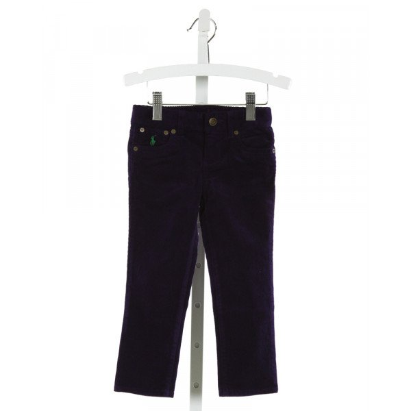 POLO BY RALPH LAUREN  PURPLE CORDUROY   PANTS